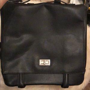 Handbags - Large Black Stylish Backpack